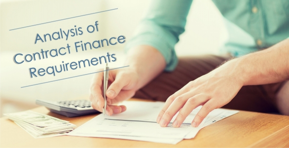 Ce - Analysis Of Contract Finance Requirements: Wemar Events And