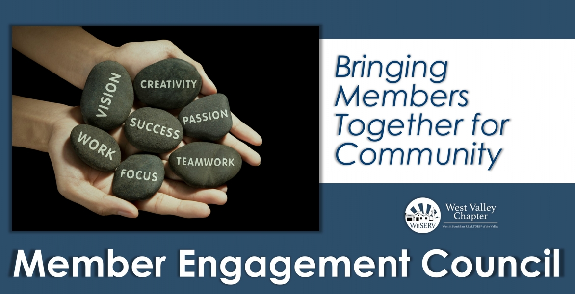 RESCHEDULED: Member Engagement Council Meeting