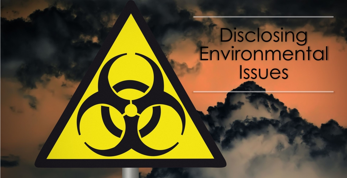 CE - Disclosing Environmental Issues